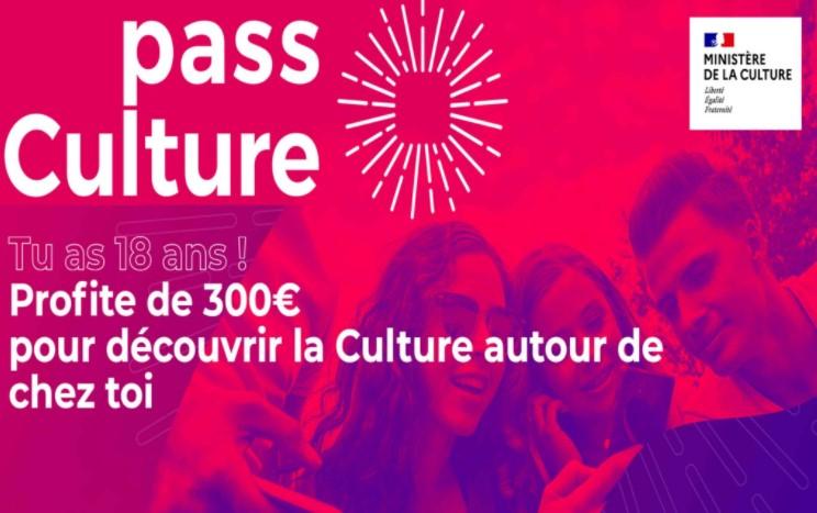 Pass culture : vous avez 18 ans, demandez-le !